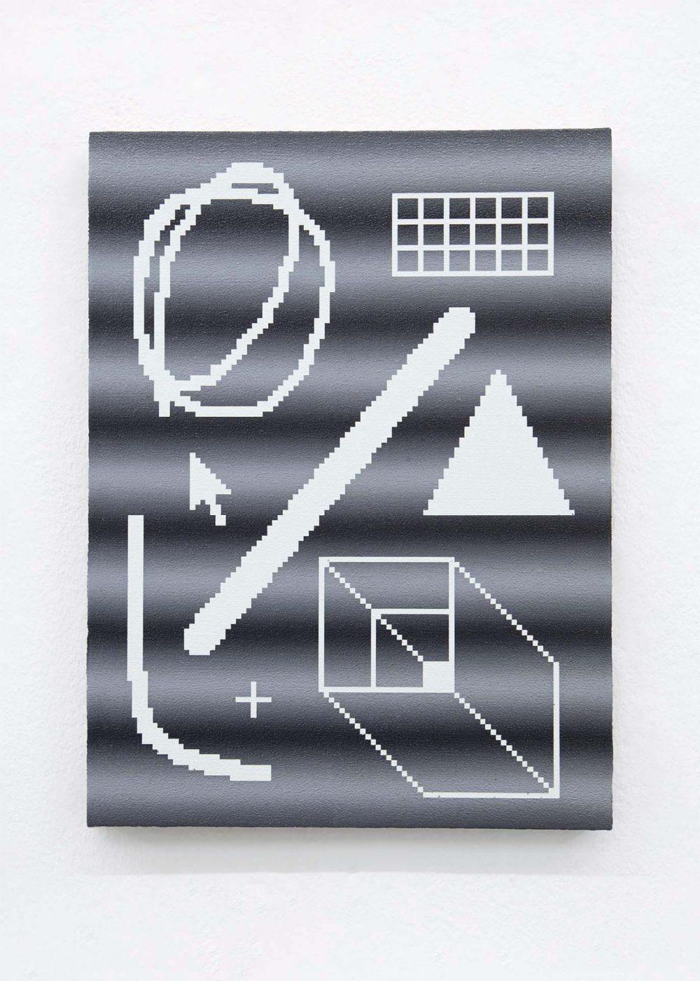 Arno Beck pixel painting
