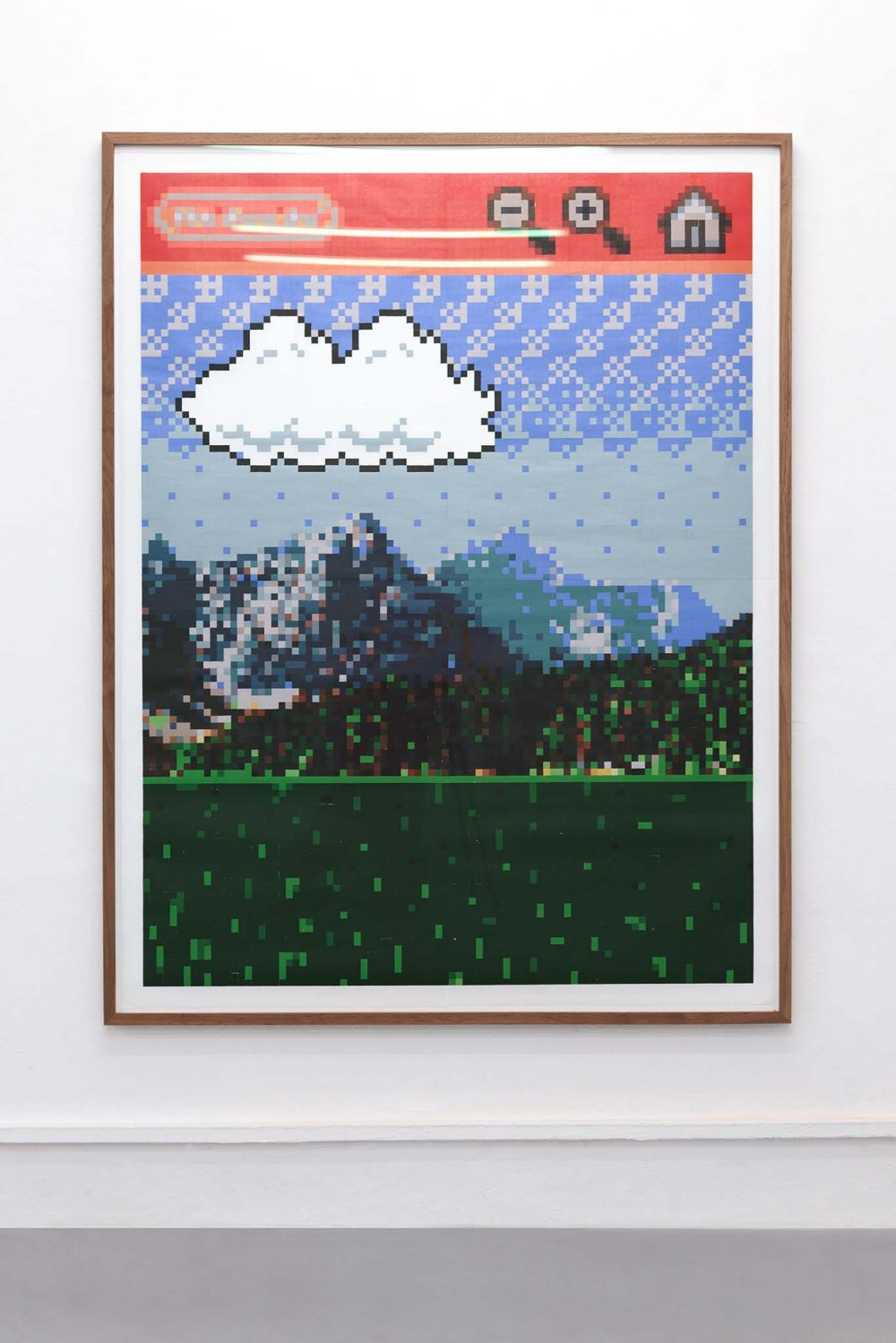 Arno Beck Woodprint Super Mario
