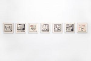 Arno Beck 5 drawings