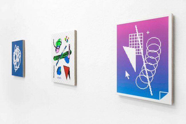 Arno Beck 4 Pixel Paintings