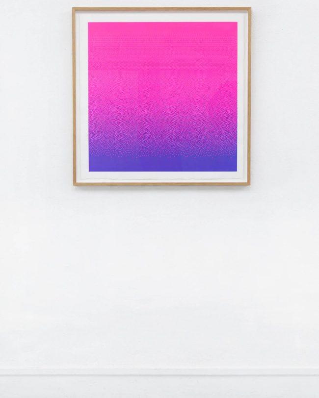 Arno Beck Silkprint pink