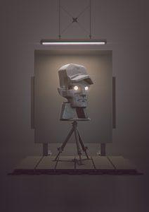 Matthias Danberg digital Sculptures