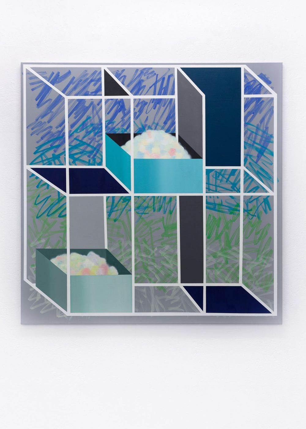 Anna Nero - Paintings - Öl und Acryl auf Leinwand - Falko Alexander gallery