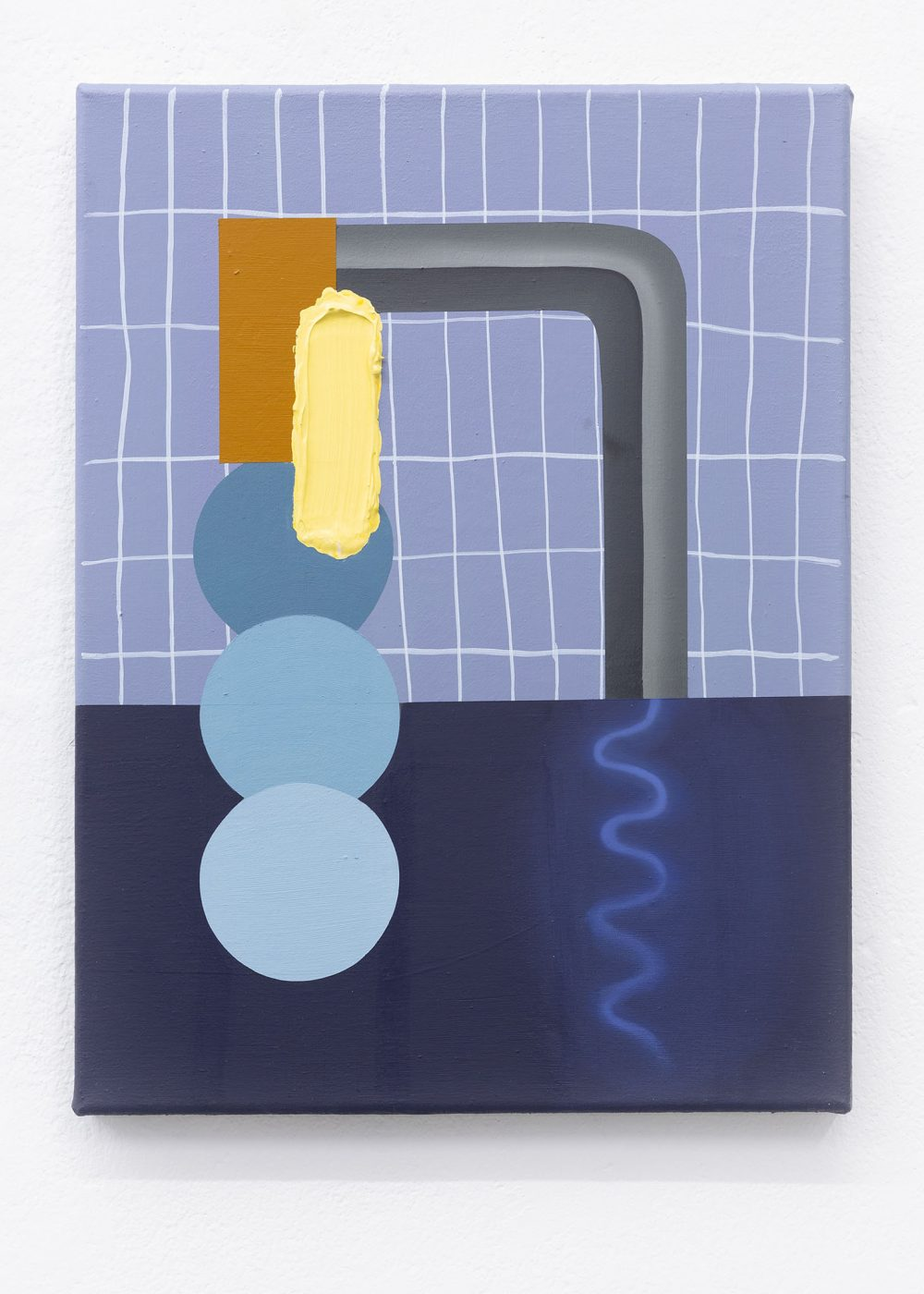 Anna Nero - Painting - Öl und Acryl auf Leinwand - Falko Alexander Gallery